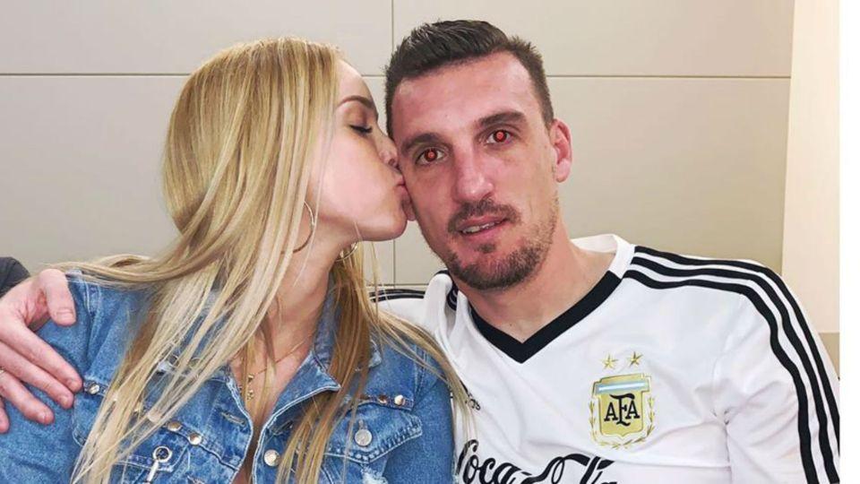 Daniela Rendon, la esposa y talismán del arquero de la Selección Argentina, Franco Armani