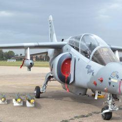 El IA-63 Pampa III es un avión de entrenamiento avanzado y de ataque liviano.