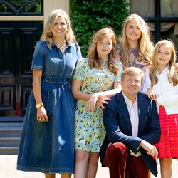 La casa de Máxima y su familia.