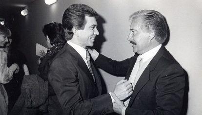 Roberto Galán junto a Juan Alberto Badía