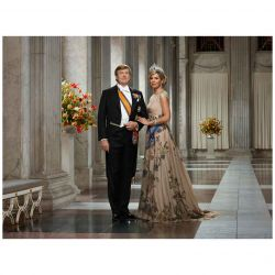 La familia real holandesa