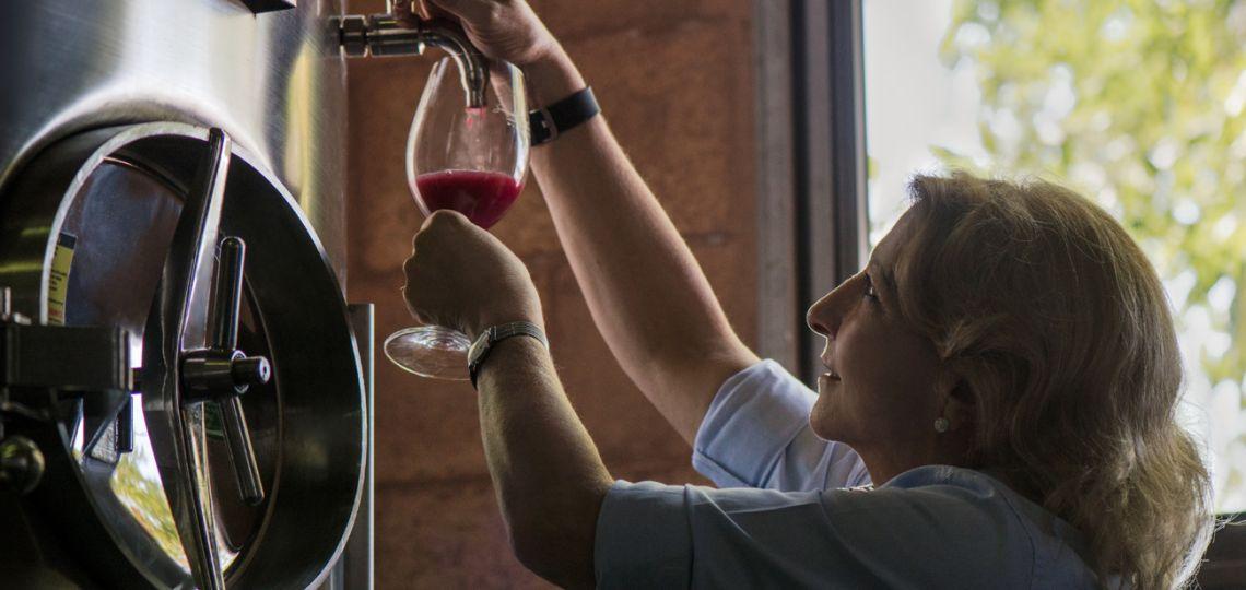 Conocé a la wonder woman del mundo del vino