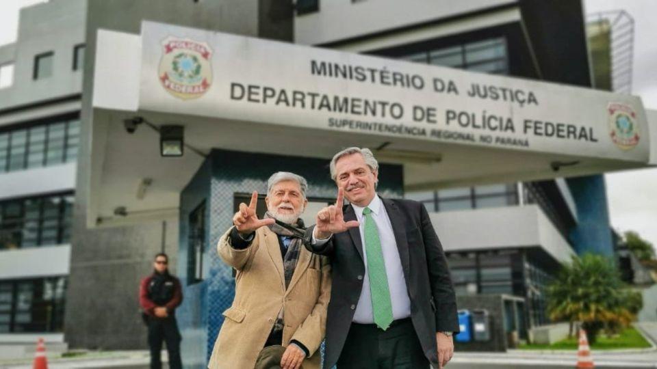 Alberto Fernandez Celso Amorim Lula da Silva Carcel de Curitiba