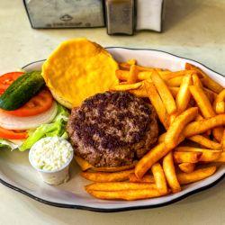 A partir de finales de la década del '30, surgió en Nueva York un tipo específico de restaurante que se especializaba en hamburguesas,