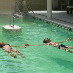 Piscinas climatizadas especiales para el relax, también el Carhué.