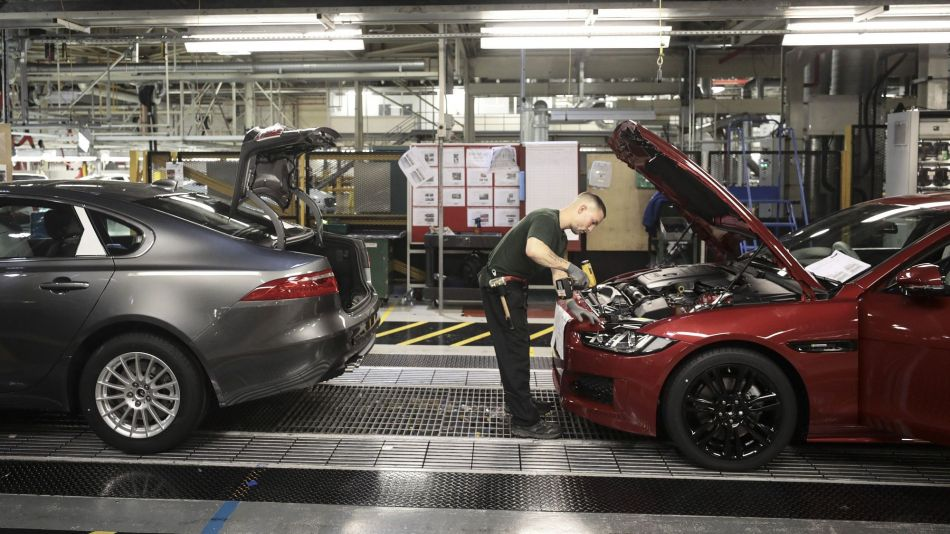 Inside Tata Motors Ltd. Jaguar Automobile Production Facility