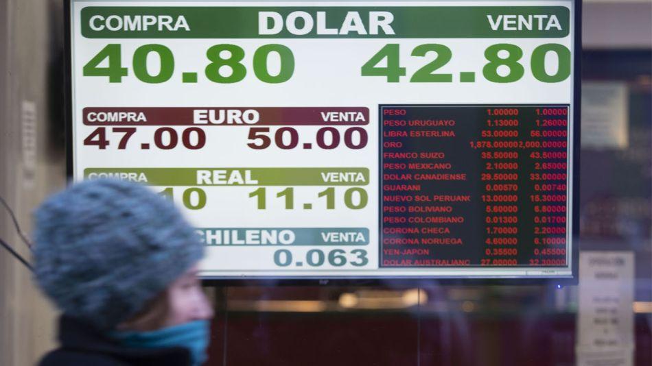 """Clima polar: en épocas de baja temperatura, el dólar parece """"congelado"""""""