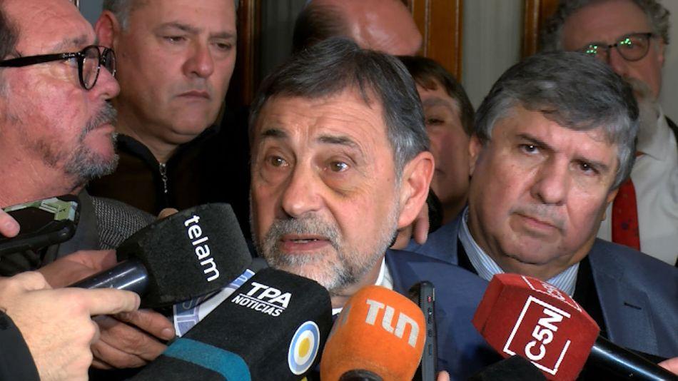 """El cordobés Carlos Caserio afirmó que el Gobierno nacional """"es un desastre""""."""