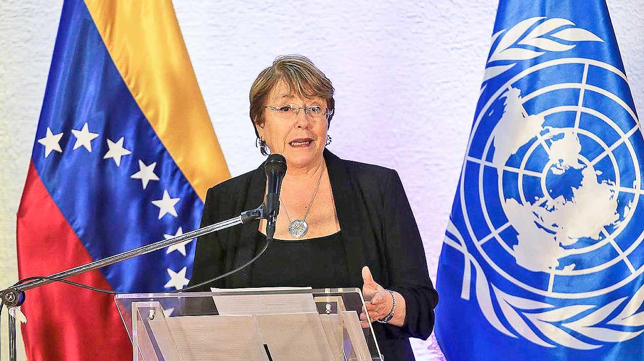 """Bachelet pide """"una oportunidad"""" para el gobierno de Maduro"""