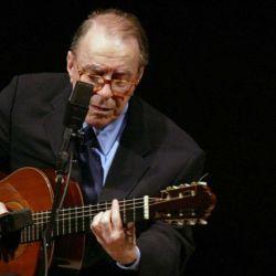Joao Gilberto en el Carnegie Hall, en Nueva York.