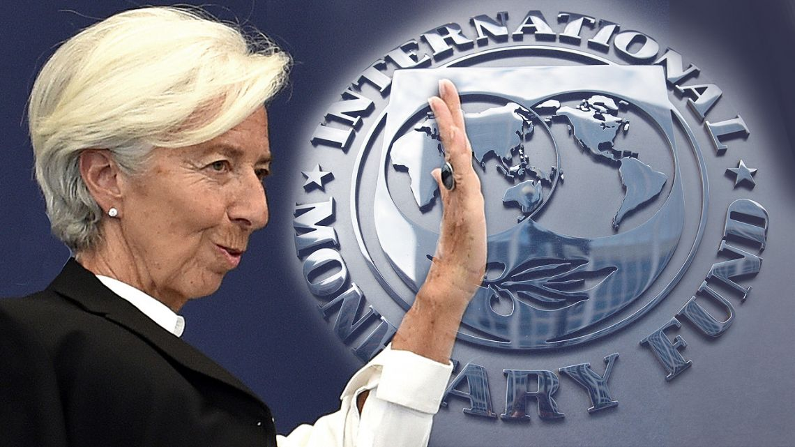 Lagarde is departing the IMF after she was nominated to be the European Central Bank chief.