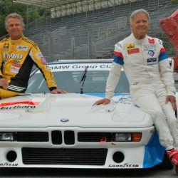 En Norisring, junto con Marc Surer y los celebrados BMW M1