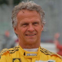 Vestido de piloto, en el circuito alemán de Norisring.