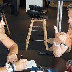 El ex piloto de F.1 en charla con Parabrisas