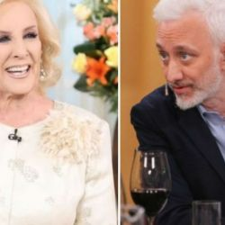 Mirtha Legrand y Andy Kusnetzoff