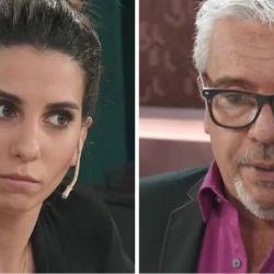El tenso momento entre Cinthia Fernández y Coco Sily por Matías Defederico