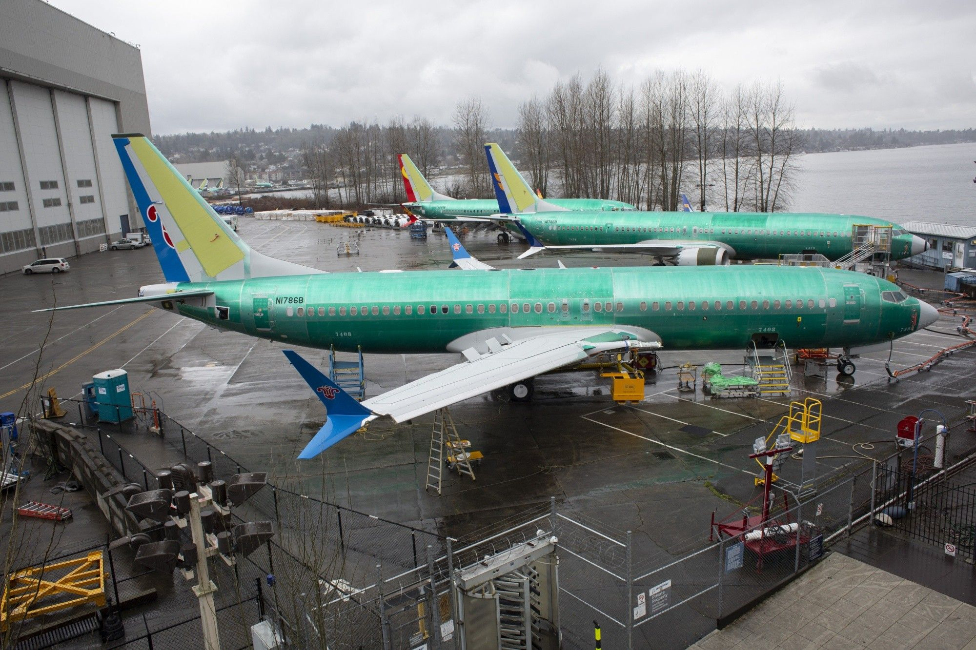 Boeing Corp. 737 Aircraft Production Plant Amid Global Uproar