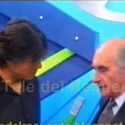 Fernando de la Rúa y Marcelo Tinelli