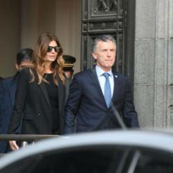 Mauricio Macri y Juliana Awada los primeros en llegar al velatorio de De La Rúa/ Fotos: Ernesto Pagés