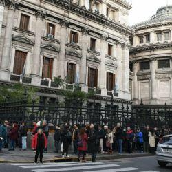 Personalidades de la política, amigos y familiares despiden al ex presidente Fernando de la Rúa/ Fotos: Ernesto Pagés
