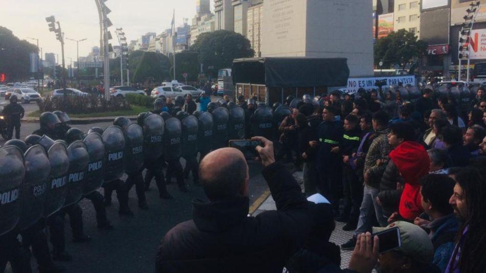 obelisco policia manifestantes g_20190709
