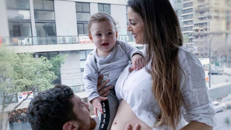 Belu Lucius confirmó que espera su segundo hijo con Javier Ortega Desio