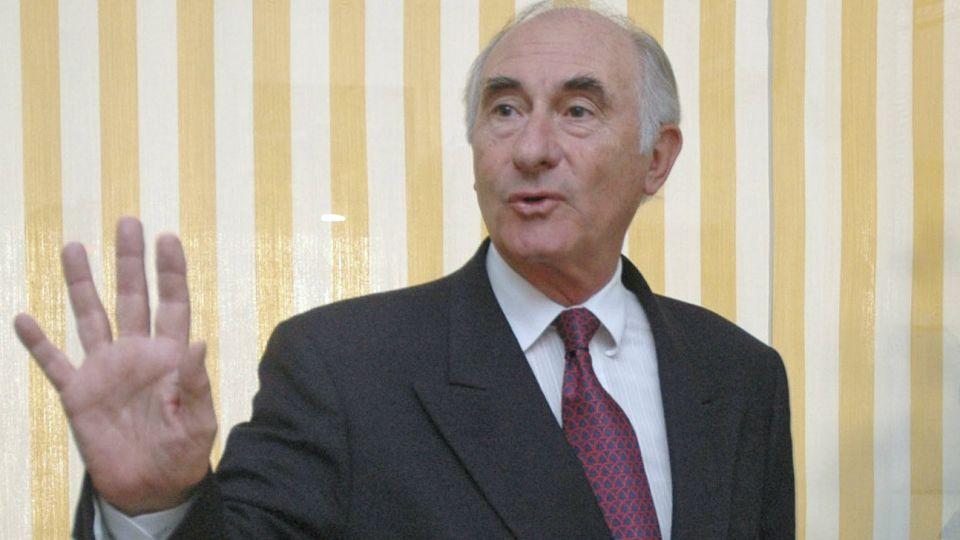 El expresidente Fernando de la Rúa.