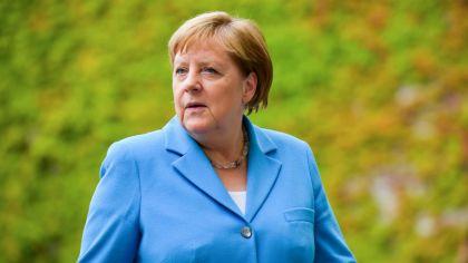 Angela Merkel experimentó temblores incontrolables en la recepción del jefe de Gobierno de Finlandia, Antti Rinne.