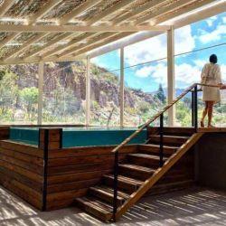El spa del hotel de las termas de Cacheuta es el lugar ideal para el relax de toda la familia.