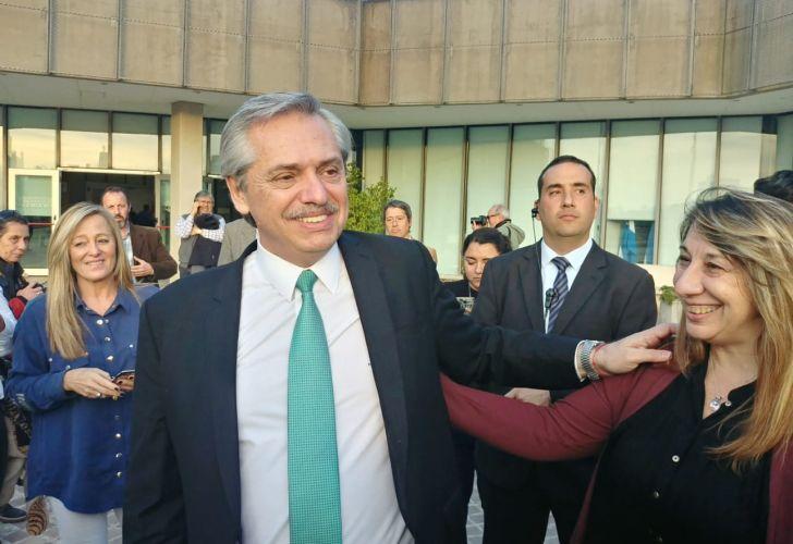 Alberto Fernández en Córdoba 7-19