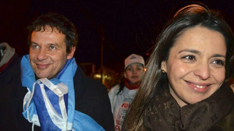 Eduardo Costa y Mariana Zuvic.
