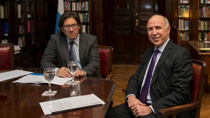 Germán Garavano y Ricardo Lorenzetti