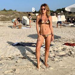 Flavia Palmiero se desnudó en España