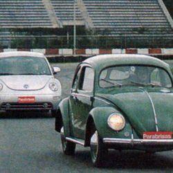 Volkswagen New Beetle vs Volkswagen Escarabajo