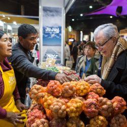 Representantes de todas la provincias tuvieron espacio para exhibir sus productos.