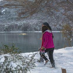 Las bajas temperaturas no impiden vivir la aventura de ingresar al Parque Nacional Tierra del Fuego en el Tren del Fin del Mundo.