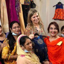 Máxima de Holanda en Bangladesh