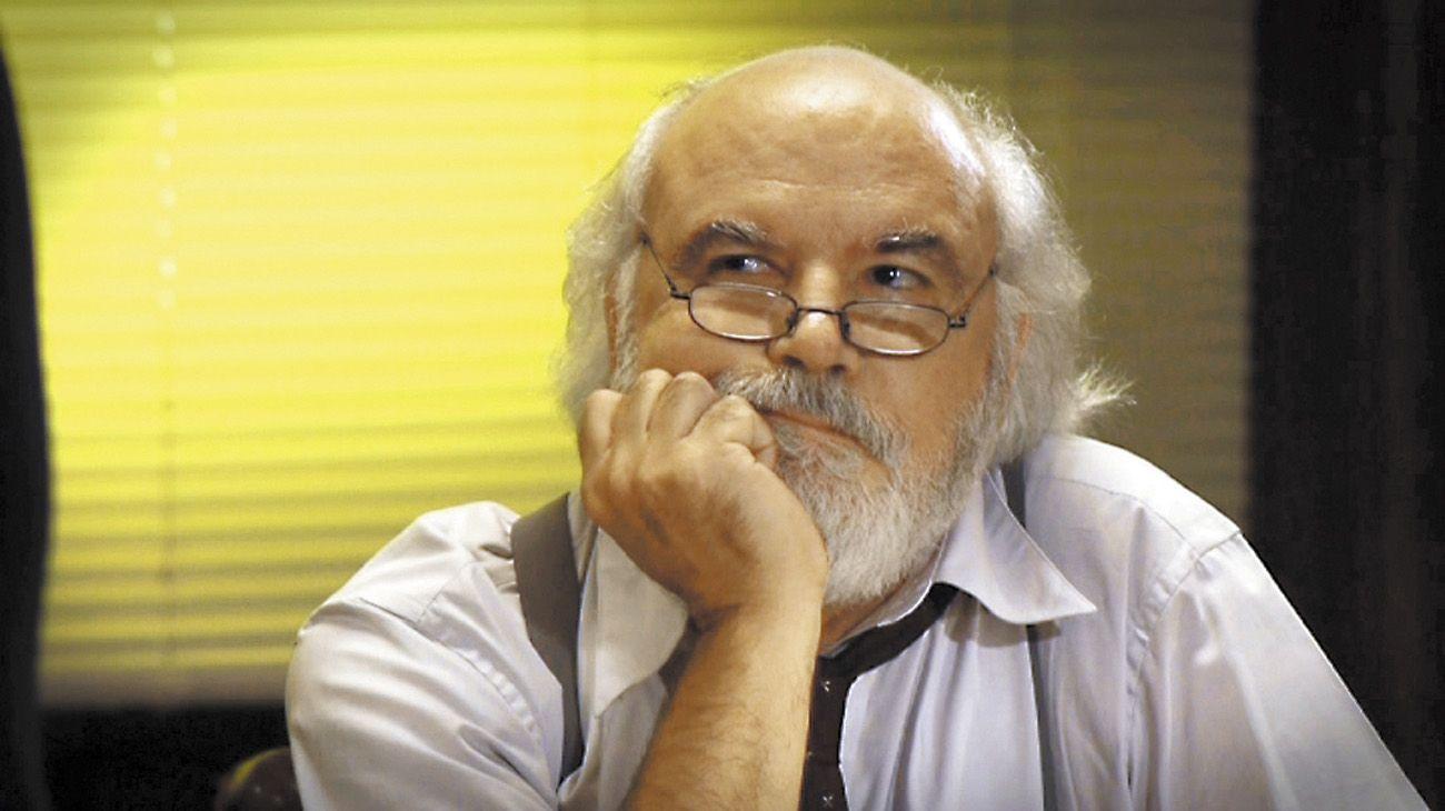 El editor, escritor, guionista y conductor Juan Sasturain