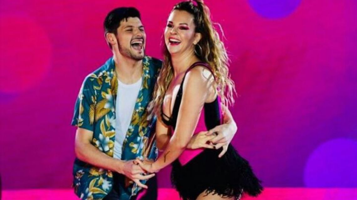 Yanina Screpante debutó en el Bailando