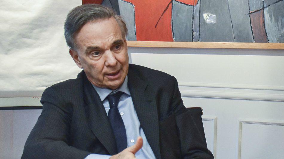 Miguel Ángel Pichetto, candidato a vicepresidente por Juntos por el Cambio.