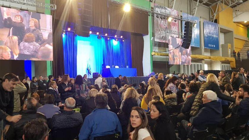 De regreso de Cuba, Cristina Kirchner retoma la campaña y presenta su libro en Río Gallegos
