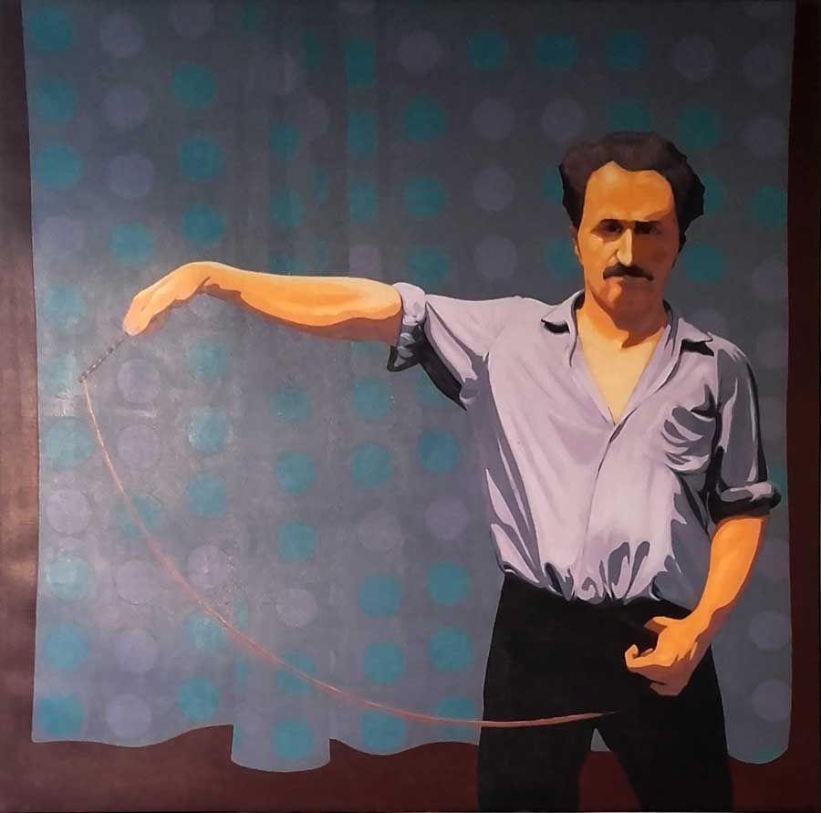 Retratando a Giuffré. Exposición en galería Jacques Martínez