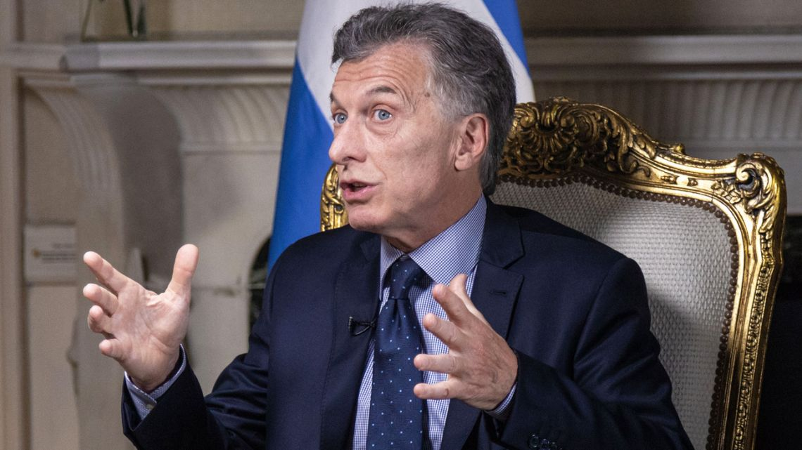 President Mauricio Macri, pictured during an interview last year.