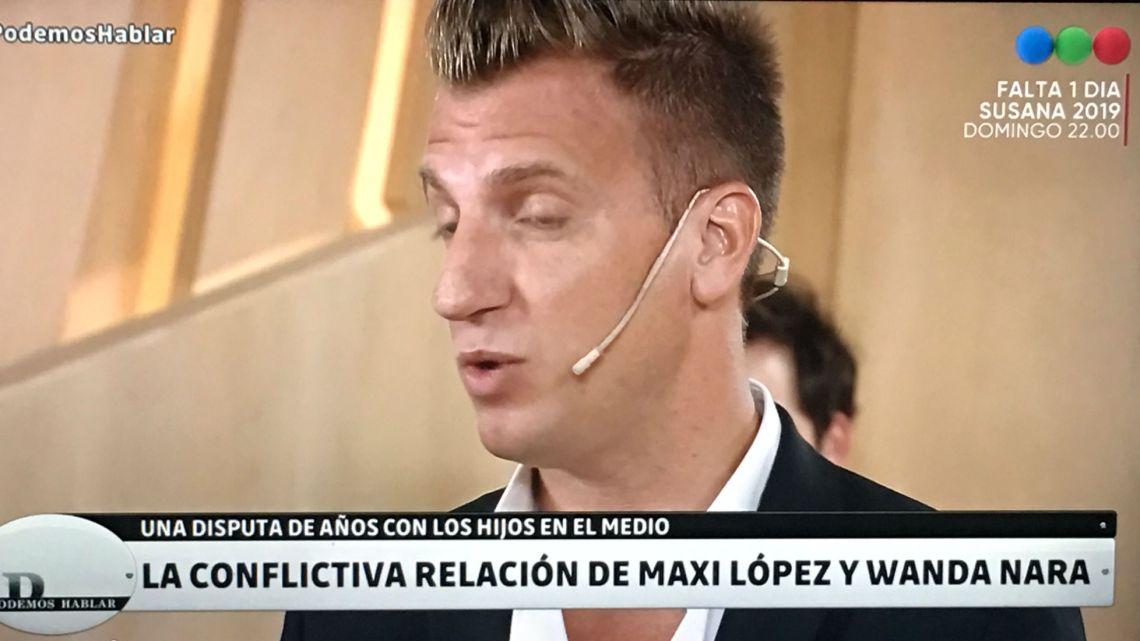 La advertencia de Rosenfeld a Maxi López tras sus polémicos dichos