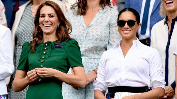 Meghan Markle y Kate Middleton dieron cátedra de estilo en Wimbledon