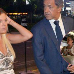 Gisela Berger y Daniel Scioli están juntos de nuevo