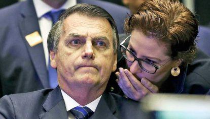 Desconectado. Al presidente brasileño, Jair Bolsonaro, se le cuestiona su falta de diálogo con los grupos parlamentarios que votarán el proyecto.