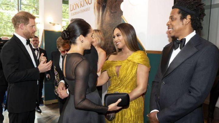 VIDEO| El glamoroso encuentro entre Meghan Makle y Beyoncé
