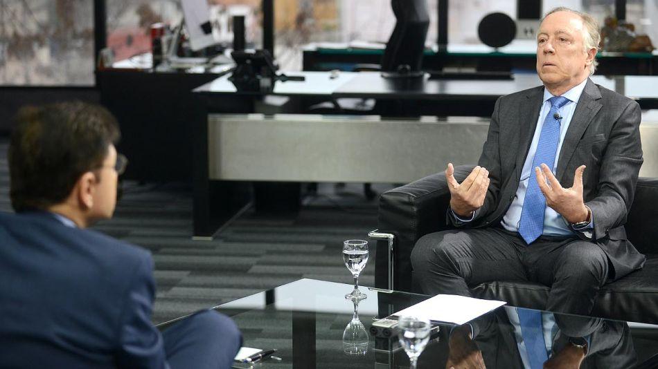Guillermo Nielsen, en la entrevista con Fontevecchia en el Diario PERFIL.