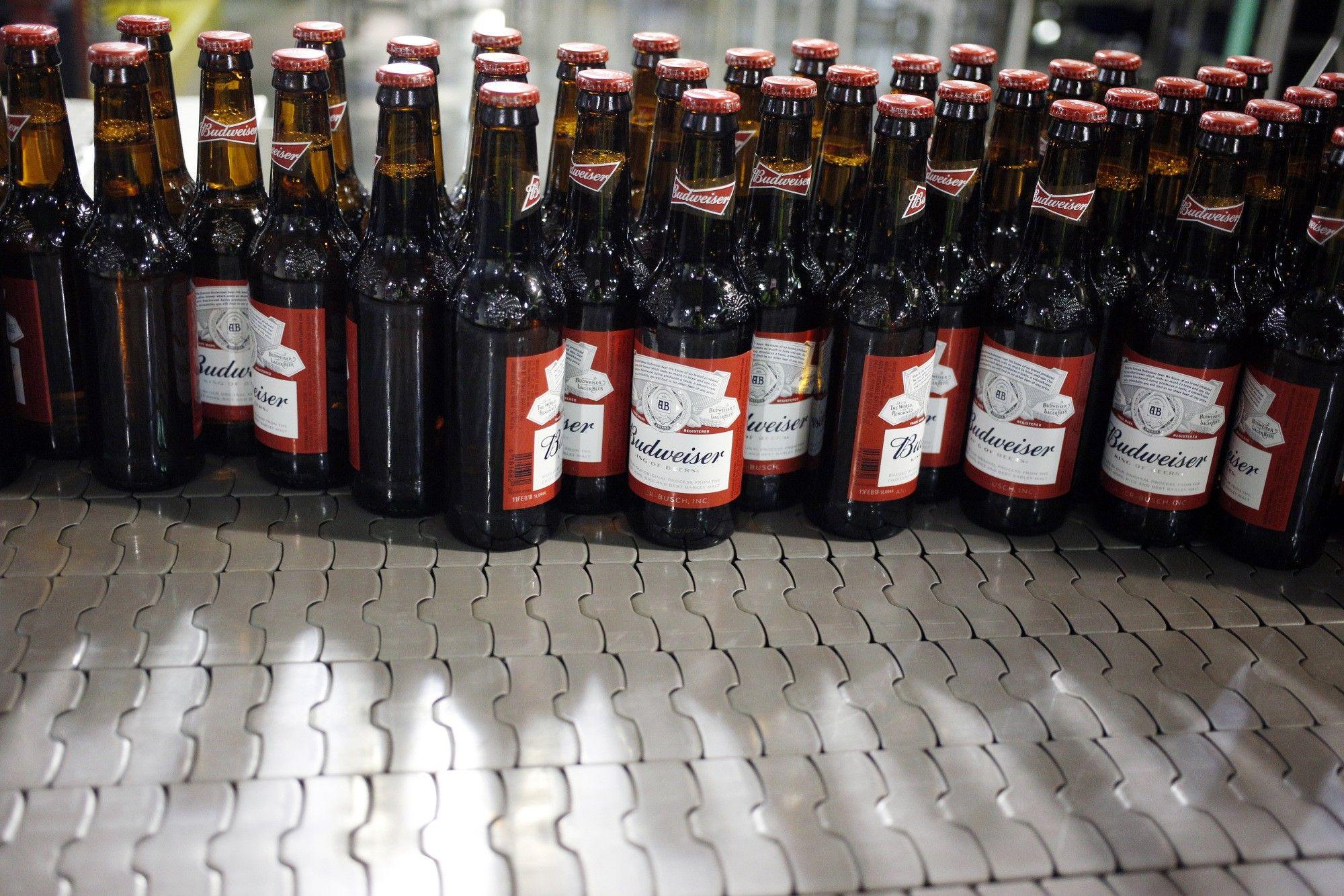 Inside The Anheuser-Busch InBev NV Budweiser Bottling Facility Ahead Of Earnings Figures